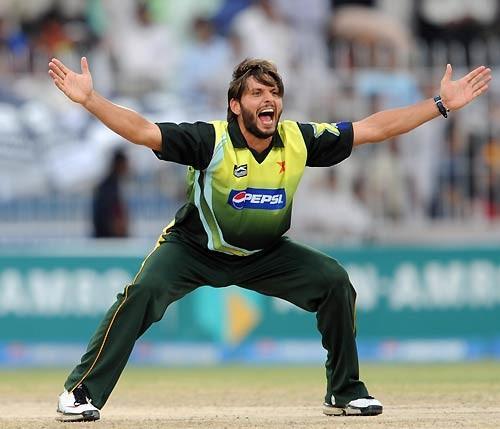 Shahid Afridi latest happiness still