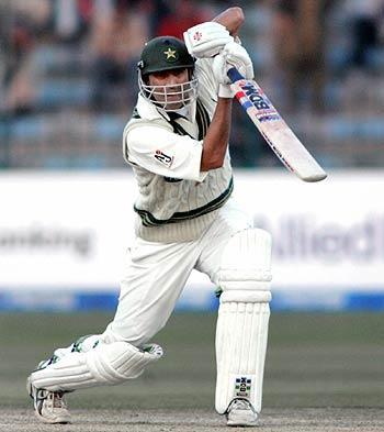 Younis Khan batting still
