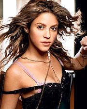 Shakira latest glamour still