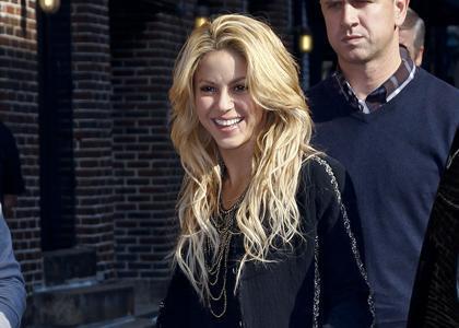 Shakira white hair cute still