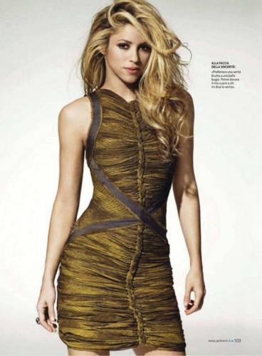 Shakira photo shoot for Jack Magazine