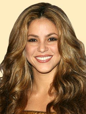 Shakira beautiful smile pic