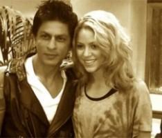 Shakira and shah rukh  latest photo