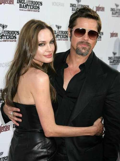 Angelina Jolie backless dress glamour photo