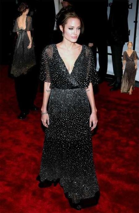 Angelina Jolie amazing gown latest photo