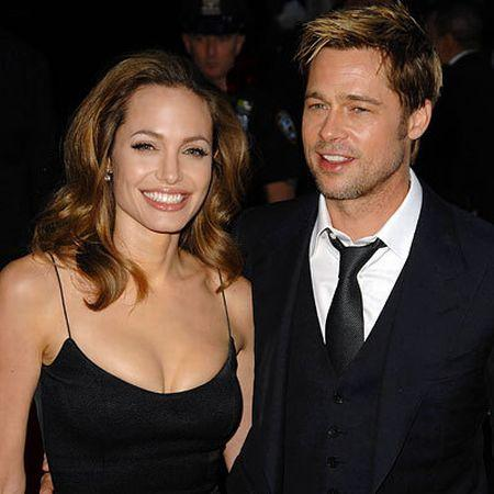 Angelina Jolie open boob latest photo