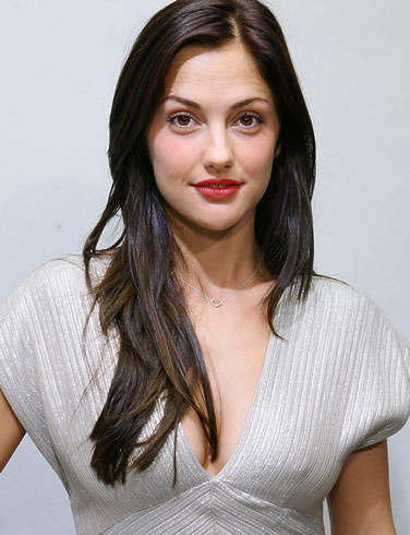 Minka Kelly red lips beauty still