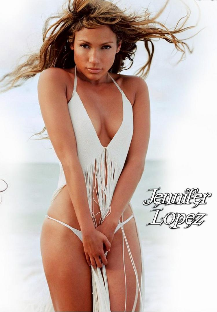 Jennifer Lopez sexy bikini dress hot still