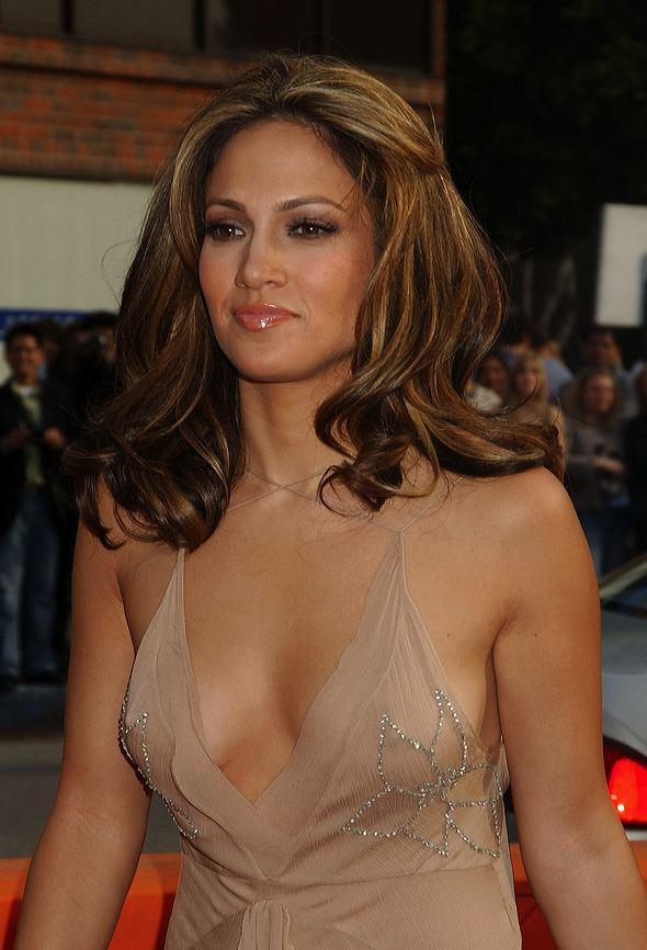 Jennifer Lopez super hairstyle gorgeous public photo
