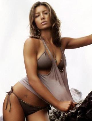 Jessica biel bikini dress hottest photo
