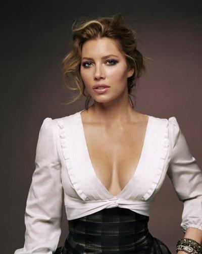 Jessica biel open boobs images