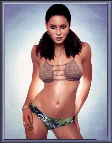Jessica Biel bikini hot still
