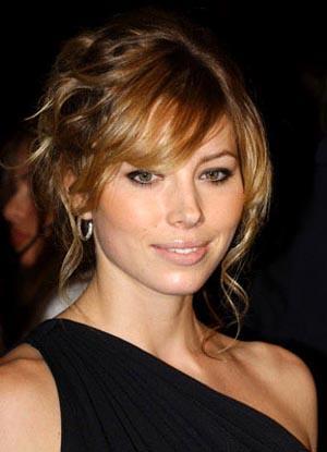 Jessica Biel very gorgeous face look
