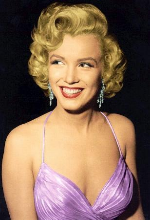 Marilyn Monroe sweet smile face wallpaper