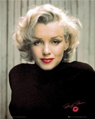 Marilyn Monro white hair wallpaper