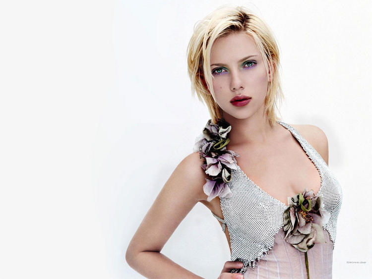 Scarlett Johansson shocking still