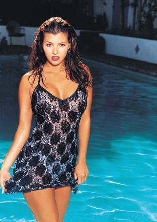 Ali Landry  swimsuit dress still