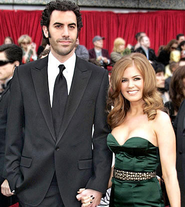 Isla fisher green color sleeveless dress still