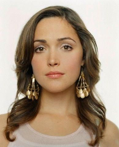 Rose byrne cute face and hair photo