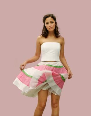 Rose byrne white mini dress cute photo