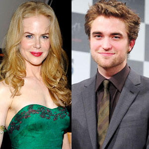 Nicole Kidman and Robert Pattinson glamour still
