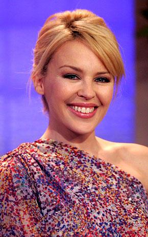 Kylie Minogue beauty smile still