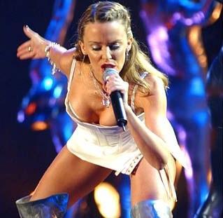 Hollywood Pop Singer kylie minogues still