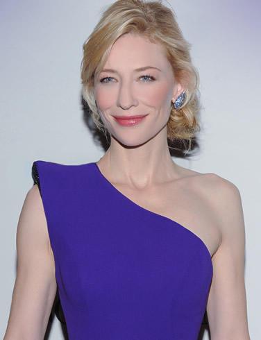 Cate blanchett blue dress glorious still