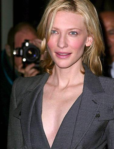 Cate blanchett glamor boob photo