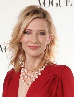 Cate Blanchett red dress swet still