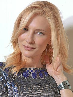 Cate Blanchett gorgeous face look