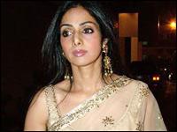 Sridevi kapoor gorgeous saree latest still