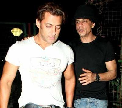 Salman Khan and shah rukh hot still