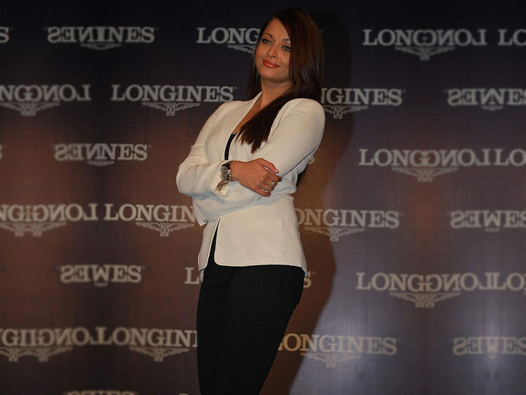 Aishwarya Rai Promoting Longines Watches