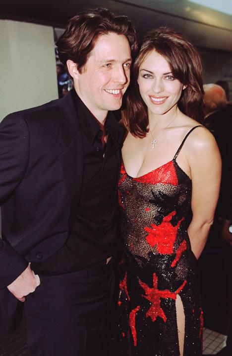 Hugh Grant and Elizabeth Hurley glamour still