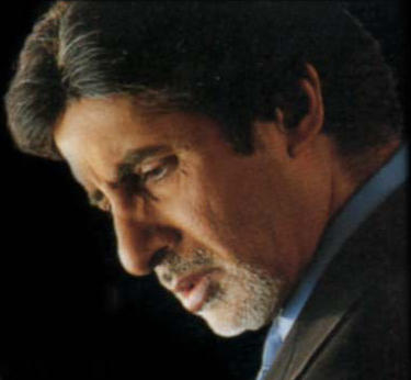 Amitabh Bachchan side face look