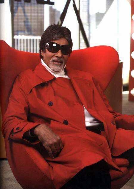 Amitabh bachchan red blazer still