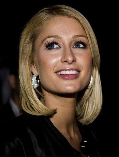 Paris Hilton cute face photo