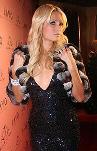 Paris Hilton glamourous photo