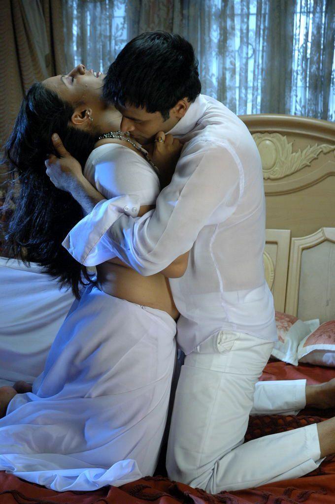 Sunakshi Latest Spicy Romancing Stills