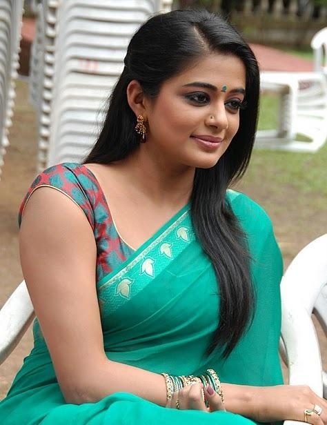 Priyamani green saree cool looking photo
