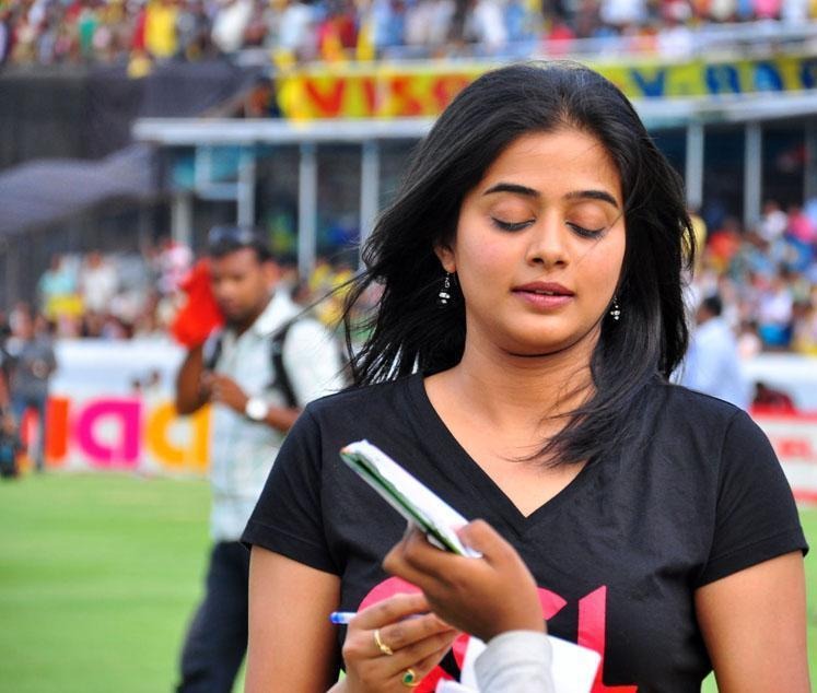 Beautiful Priyamani At Celebrity Cricket League T Finals