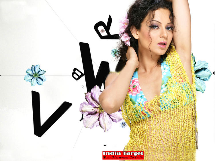 Kangana Ranaut hottest and sexiest wallpaper
