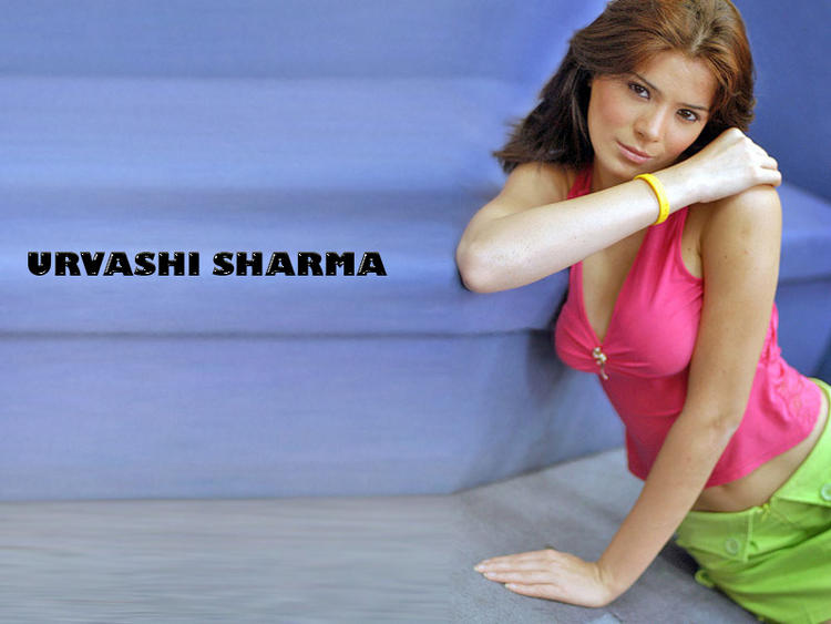 Urvashi Sharma pink dress sexiest wallpaper