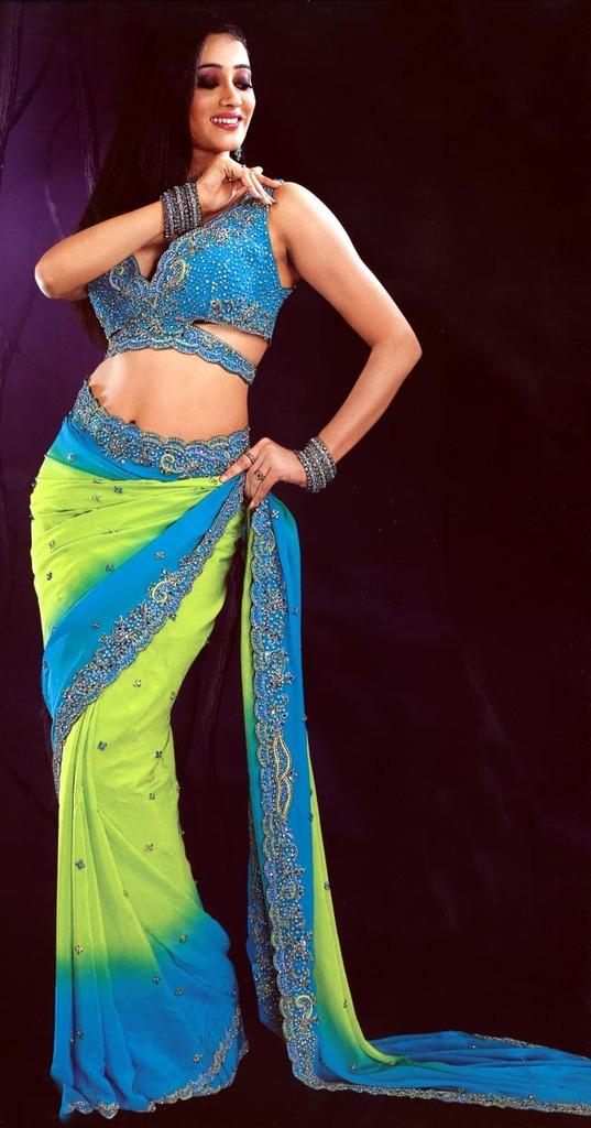 Shweta Tiwari in amazing saree