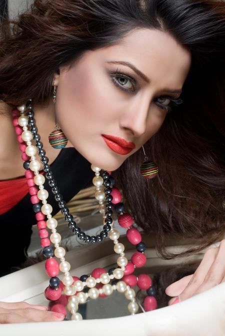 Mehwish Hayat red lips sexiest wallpaper