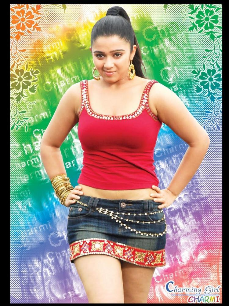 Charmi mini dress colorful wallpaper