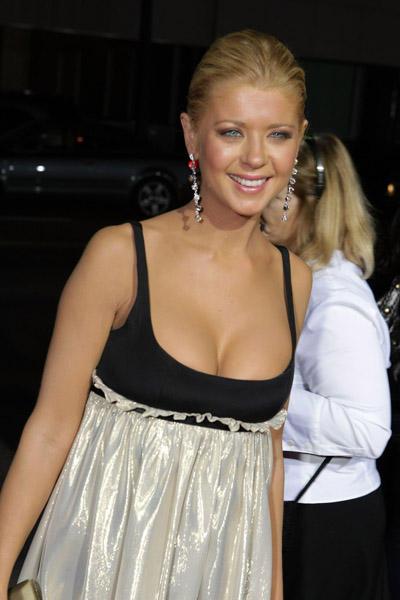 Tara Reid open boob glamour still