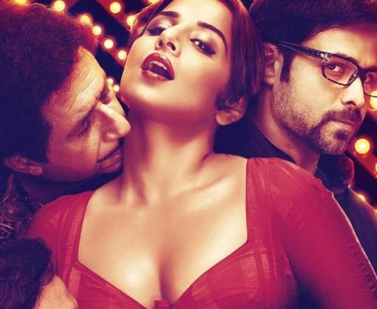 Vidya Balan as Silk Smitha in Dirty Picture