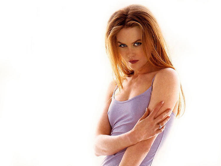 Nicole Kidman spicy look wallapper